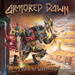 ARMORED DAWN - »Power Of Warrior«-Cover