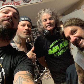 Bobby ''Blitz'' Ellsworth, Phil Demmel, Mark Menghi & Mike Portnoy-Projekt-Newshot