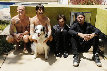 RED HOT CHILI PEPPERS-Newshot