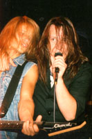 SAVATAGE-Shot: Chris Caffery & Jon Oliva