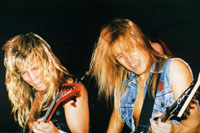 SAVATAGE-Shot: Johnny Lee Middleton & Chris Caffery