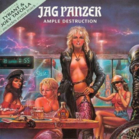 JAG PANZER-Cover: »Ample Destruction« [BARRICADE]