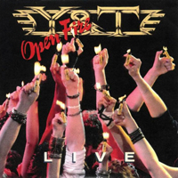 Y&T-Cover: »Open Fire«