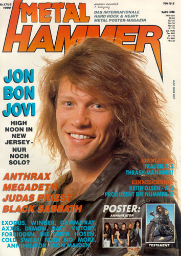 METAL HAMMER 17-18/90-Cover
